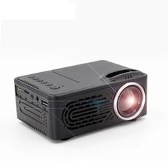 New Mini LED Projector Video Game Beamer Portable Proyector Audio/AV/USB/SD Cheap price black 123*86*56mm