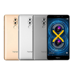 Refurbished phone Huawei honor play 6X 4+32GB -5.5 ''screen-12mp+8MP- smartphone smart phone gray
