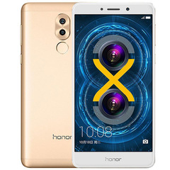 Refurbished phone Huawei honor play 6X 4+32/64GB -5.5 ''screen-12mp+8MP- smartphone smart phone gold 3+32g