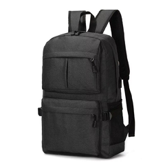 Men and women Business Laptop Backpack,Waterproof USB Charging Port & Headphone interface Bag black 30.0 cm * 16.0 cm * 50.0 cm