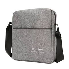 Men's Chest Bag Casual Canvas Bag Single-Shoulder Crossbody Bag Outdoor Sports Bag Chest Bags gray one size