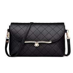 New Fashion Women Shoulder Bag Handbags Clutch Bag Ladies Messenger Bags Wallet black one size