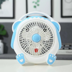 Mini Fan,portable and desk multi-function mini fan, Good durability fan,Summer Home Office Travel blue