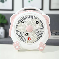 Mini Fan,portable and desk multi-function mini fan, Good durability fan,Summer Home Office Travel pink