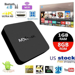 MXQ 4K Smart TV Box Android 7.1 RK3229 Quad Core 1G 8G Set top Box Media Player Receiver 2.4G WIFI