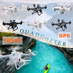 Global Drone X183S GPS Large UAV 5G 1080P Wide Angle WIFI FPV HD Camera RC Quadcopter Helicopter 720P WiFi White With 1 x Battery