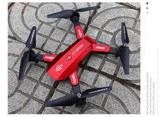 Foldable 18min long Fly Time RC Drone 1080P HD Camera  WIFI FPV Altitude Hold Quadcopter Helicopter RED without camera with 1 x battery