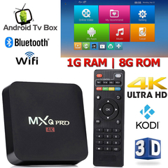 MXQ PRO Android 7.1 Smart TV Box S905W Quad-core 1G 8G Set top Box WIFI 4K Media Player Receiver