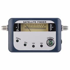 Satellite Finder Signal Identifier Receiver TV Reception Strength Meter Detector Pointer With Compas