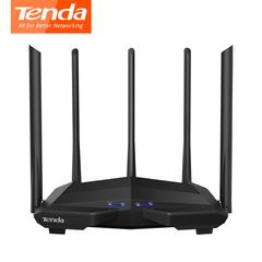 Tenda AC11 Gigabit Dual Band AC1200 Wireless WiFi Router Repeater 5*6dBi Antennas 5G 2.4G 802.11AC