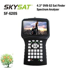 HD Satellite Finder Twinkler SF-620S 4.3in LCD Spectrum Analyzer CCTV Camera Handheld DVB-S2 Meter