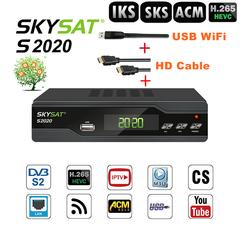 SKYSAT S2020 Satellite Receiver IKS SKS ACM IPTV VOD CS Xtream TV stable server M3U Twin Tuner