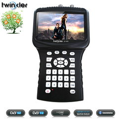Twinkler SF-999 Combo HD Digital Satellite Finder DVBS2 DVBT2 DVBC Spectrum Analyzer Signal Meter