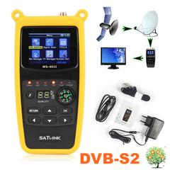 SATLINK WS-6933 Digital Satellite Finder  DVB-S2 FTA C KU Band satfinder 2.1in LCD Sat Meter WS6933