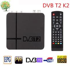Digital TV Terrestrial receiver DVB T2 K2 FTA H.264 MPEG-2/4 PVR TV Tuner FULL HD 1080P set top box