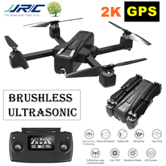 JJRC X11 GPS RC Drone Brushless 5G WIFI FPV HD 2K Camera Quadcopter Helicopter RTF Dron Aircraft Toy 2K+GPS with 1 x battery