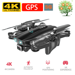 4K HD Camer GPS Follow Me RC Drone 5G WiFi FPV RTH Quadcopter 20min Helicopte Dron S167 Aircraft Toy GPS+4K+5G with 1 x battery
