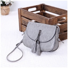 Explosion promotion in 2019, low price one day snapped up, Handbags, Fashion Shoulder Bags gray one size