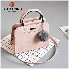 TATA Explosion promotion in 2019, low price one day snapped up, Handbags, Fashion Shoulder Bags pink one size