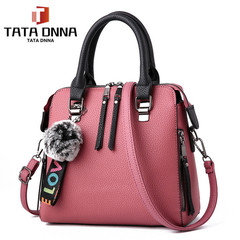 TATA Limited Explosion Promotion in 2019,New Fashion Handbag,Bags Handbags Accessories pink one size