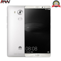 Ryan World HuaWei Brand New Mate 8 Smartphone 32GB+3GB RAM 16MP+8MP Single Sim Fingerprint Mobile grey+single sim