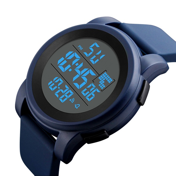 ... Watch Alarm 50m Waterproof Sport Watches Army LED Watches BLUE: Product No: 733245. Item specifics: Seller SKU:men's fashion accessories: Brand: