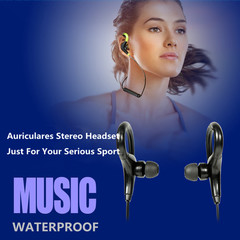 Hot Sports Running Wireless Headphones Bluetooth Earphone Auriculares Stereo Headset black