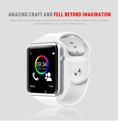 A1 Smart Watches SIM/TF Bluetooth Sport WristWatch Smartwatch with Camera Android Phone green one size