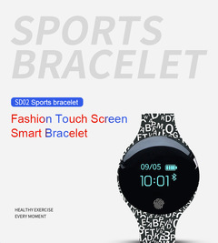 SD02 Smart watch with Touch Screen camera TF card Bluetooth smartwatch for Android IOS Phone 3 one size