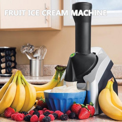 High Quality DIY Automatic Ice Cream Machine Fruit Ice Cream Maker Household Fruit Dessert Machine as pic one size