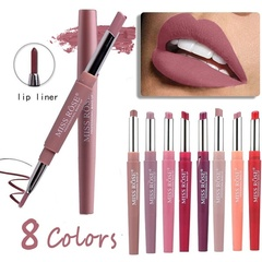 Lips Makeup Matte Lipstick Long Lasting Waterproof Pigment Lipstick Pencils Moisturizer Lips 8#