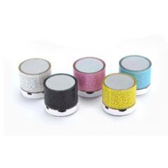 subwoofer Mini Bluetooth Wireless Speakers  LED light USB FM radio green 3w normal