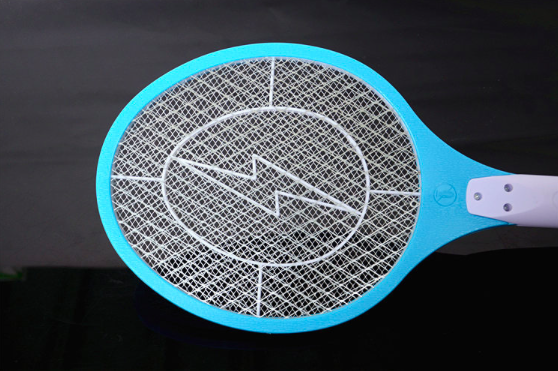 rechargeable mosquito racket, mosquito killer, LED light blue 52cm*21.5cm