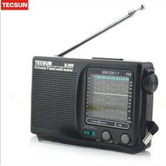 Tucsun radio R-909 AM FM SW 1-7 receiver black