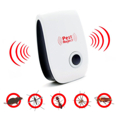 Electronic mosquito repellent Insect Killer Ultrasonic Pest Repeller mouse repellent white 10*6*6 cm