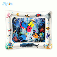 Inflatable water cushion toy baby playing on water cushion baby crawling on water cushion The white square 50*60cm