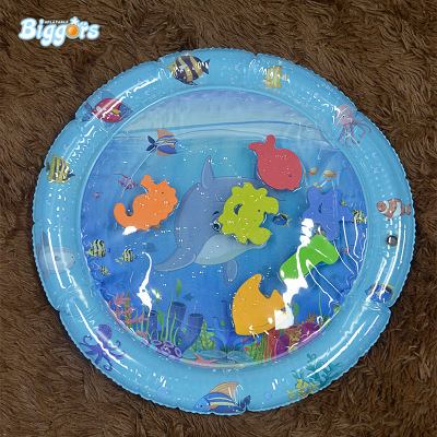 Inflatable water cushion toy baby playing on water cushion baby crawling on water cushion rounded 50*60cm
