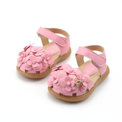Kids shoes 2019 New Summer  Child Girls Sandals Flower PVC Princess Baby Girls Shoes fashion sandals pink 21