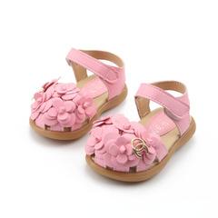Kids shoes 2019 New Summer  Child Girls Sandals Flower PVC Princess Baby Girls Shoes fashion sandals pink 21
