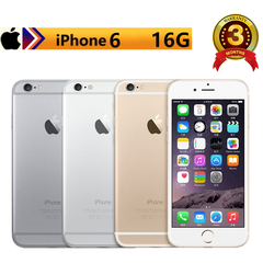 Refurbished iPhone6: iphone 6- 16GB+1GB +8 MP+2MP- 4.7 Inch+ 4G network+Fingerprint unlock Golden(Standard Edition)