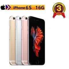 Certified Refurbished: iPhone 6S -16GB+2GB -12 MP+5MP- 4.7 Inch+4G network + fingerprint unlock golden(standard edition)