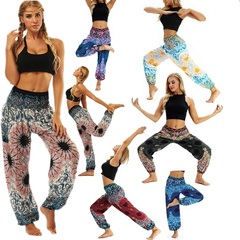 Six, loose, sports, yoga pants, casual women's wear, trousers, Light Lantern Dance pants 015 uniform code