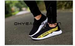 Casual sports Rubber sport Sole Men Shoes sports shoes casual shoes yellow 42