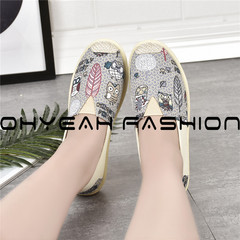 346d551dcf6 Women Sandals Fashion Casual Sport Flats Shoes Walking Non-slip Spring  Summer Leather Loafers Shoes