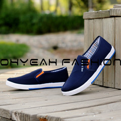 Limited time special offer casual shoes men shoes, canvas shoes, party shoes, flat shoes gray blue 39