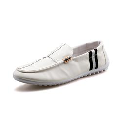 Peas shoes driving shoes shoes casual shoes tide shoes leather shoes low shoes Korean men's shoes 03 44