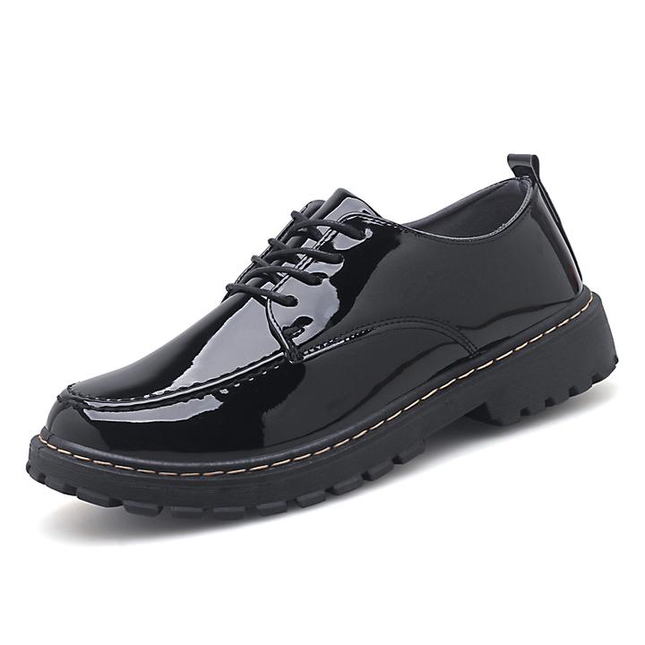2019 summer men's bright leather shoes men's shoes 01 40