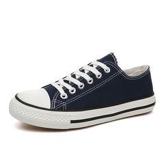 Youth trend canvas shoes skateboard shoes low to help running shoes 01 36