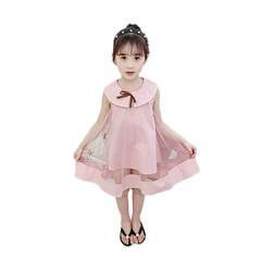 Girl princess dress dress lace dress cute six-year-old girl going out 01 110