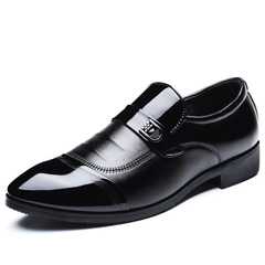 Fashion casual glossy pointed shoes 37-44 men's business shoes 01 39